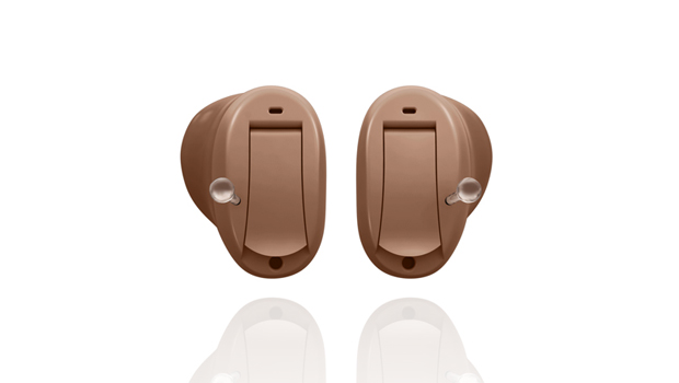 cubex hearing aid custom crafted cic isolated