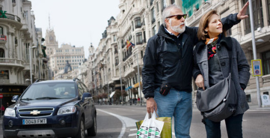 cubex real world hearing mature couple shopping