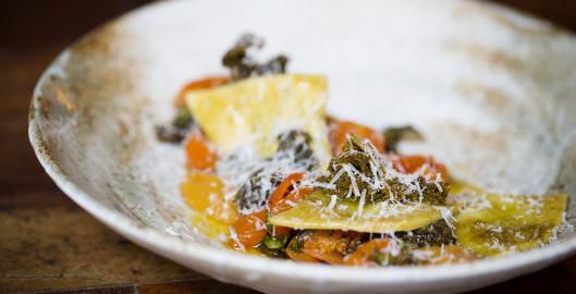 Picture marylebone Raviolo dish