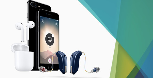 Smart Hearing Aid Technology Oticon OPN