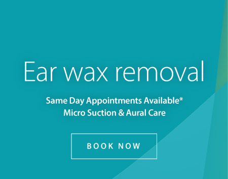 Ear Wax Removal - Book Now