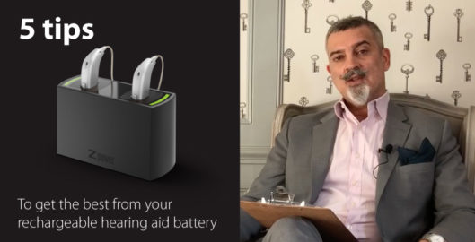 How to get the best from your rechargable hearing aid battery
