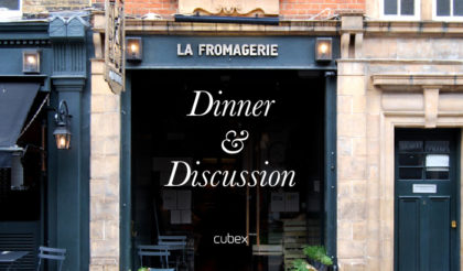 dinner & discussion la fromagerie
