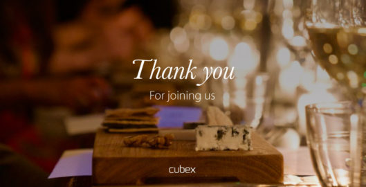 Thanks for joining Cubex dinner and discussion