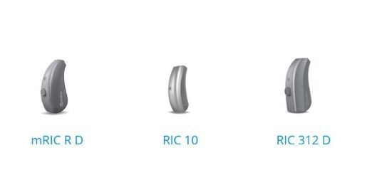 Widex Moment range of behind-the-ear hearing aids BTE