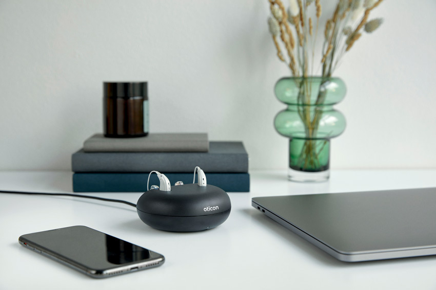 oticon more rechargeable hearing aids
